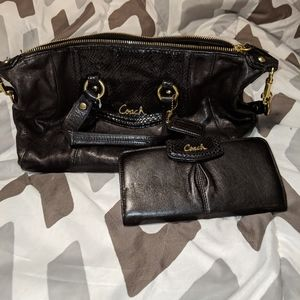 Matching purse and wallet